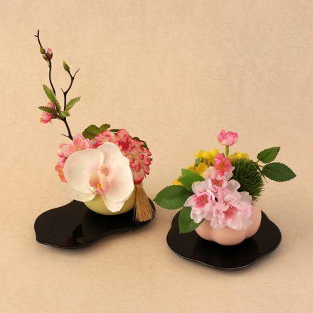 ひな祭りの花飾り