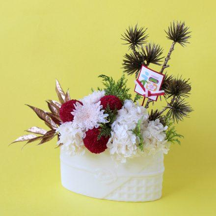 Mizuhiki(水引)ー  vase  アレンジメント